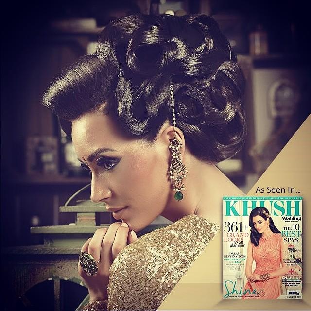 vintage | SAIRA RAHMAN HAIRSTYLIST Asian Bridal Hairstylist
