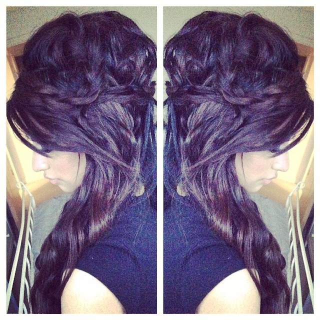 Organised Mess Hair Half Up Half Down Messy Bun With Braids And