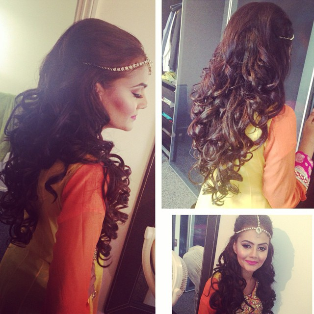 Mehndi Hairstyles Uk : Longhair saira rahman hairstylist asian bridal