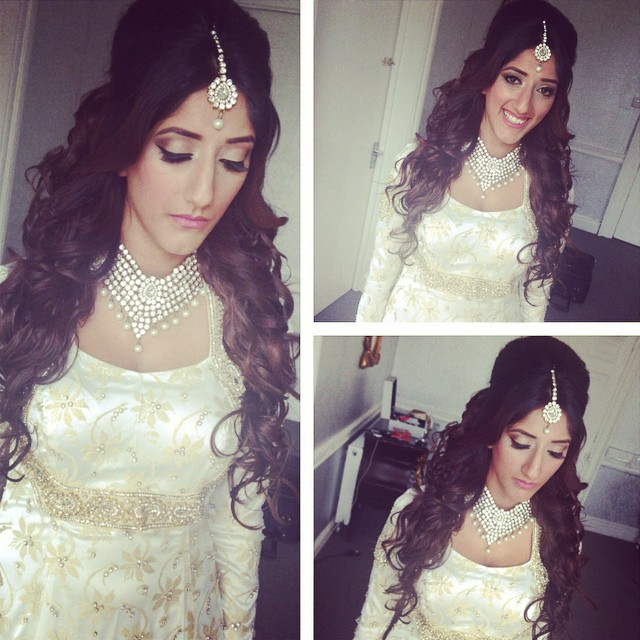 Beautiful Curls For Sister Of The Bride Makeup By