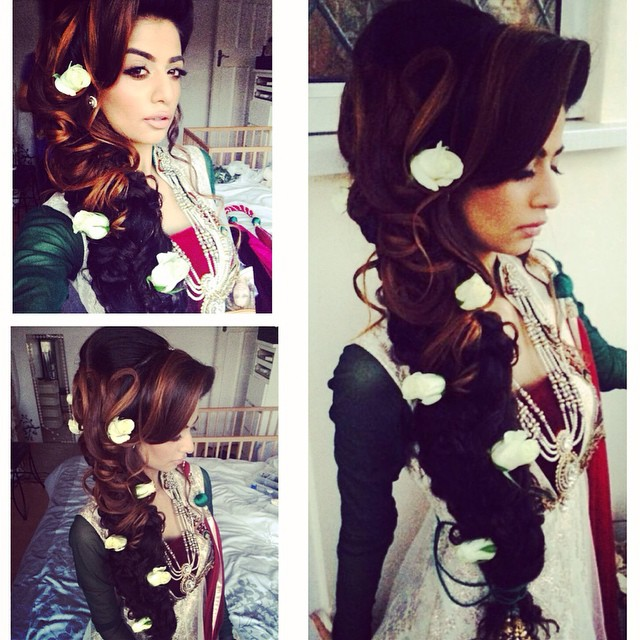 Mehndi Hairstyles Uk : Hairdown saira rahman hairstylist asian bridal