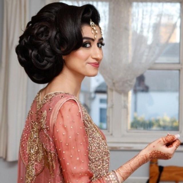 Asian Bridal Hairstyle : Bridalbun saira rahman hairstylist asian bridal hairstylist in