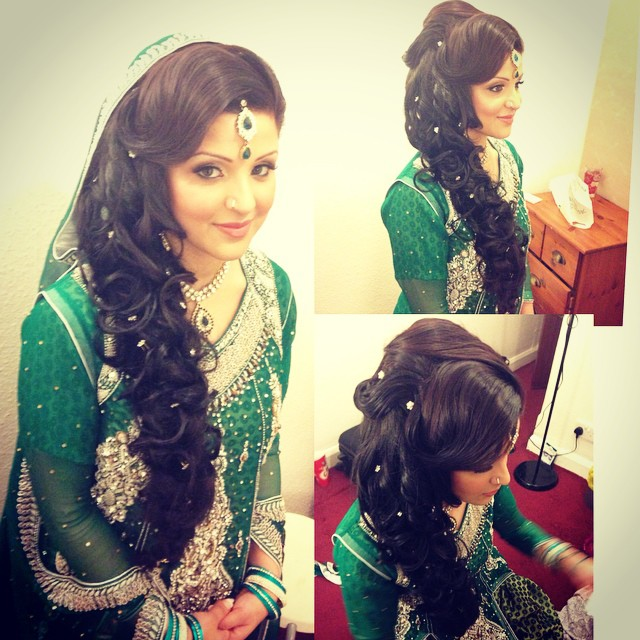 Mehndi Hairstyles Zip : Mehndi saira rahman hairstylist asian bridal