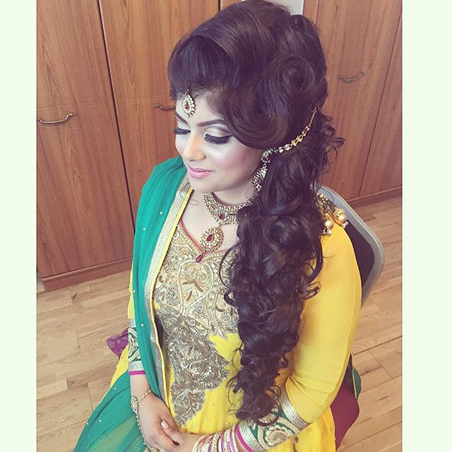 Mehndi Hairstyles Uk : Mehndi saira rahman hairstylist asian bridal