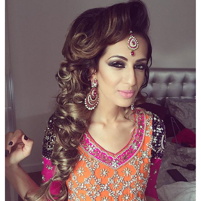 Asian Hair Style Wedding: SAIRA RAHMAN HAIRSTYLIST Asian Bridal Hairstylist