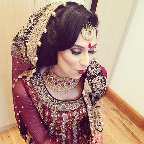 Tremendous Asianbridal Saira Rahman Hairstylist Asian Bridal Hairstylist In Hairstyle Inspiration Daily Dogsangcom