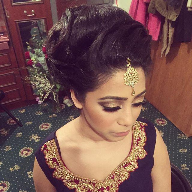 Asian Bridal Hairstyle : Bombayhair saira rahman hairstylist asian bridal hairstylist in