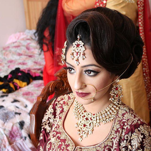 Pleasing Bridal Saira Rahman Hairstylist Asian Bridal Hairstylist In London Hairstyle Inspiration Daily Dogsangcom