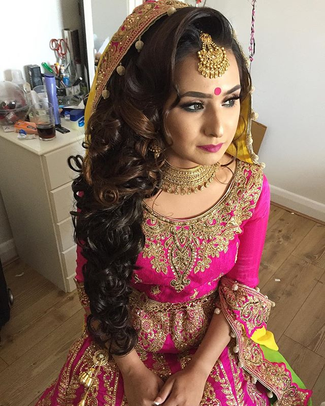 Wedding Hairstyle Asian: SAIRA RAHMAN HAIRSTYLIST Asian Bridal Hairstylist