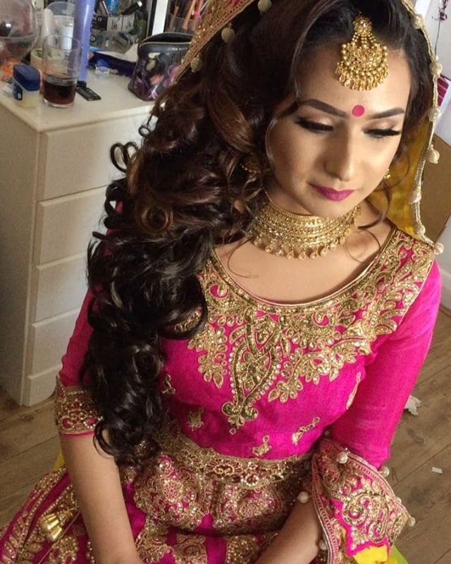 Mehndi Day Hairstyles : Wedding saira rahman hairstylist asian bridal